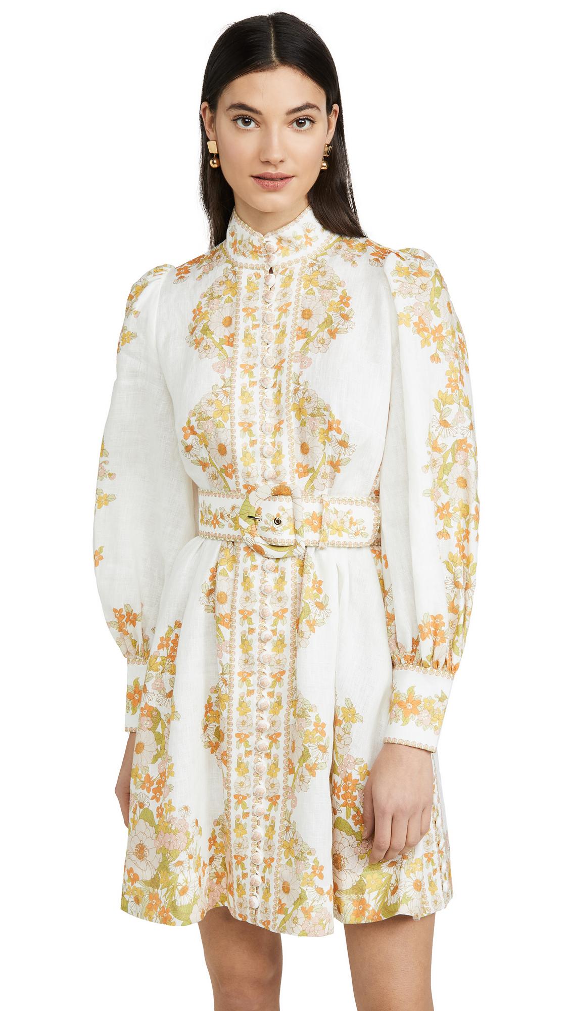 Buy Zimmermann Super Eight Tubular Mini Dress online beautiful Zimmermann Clothing, Dresses