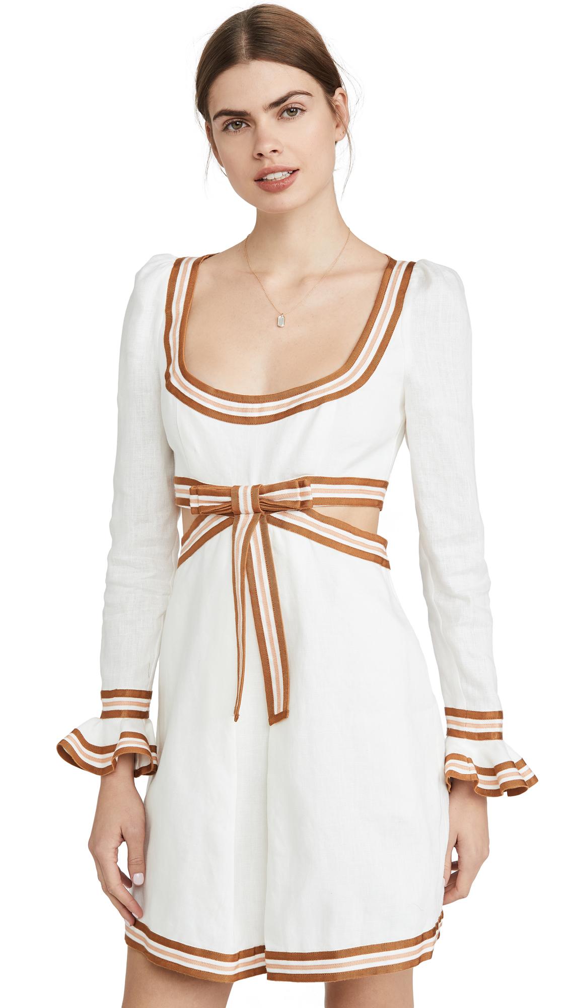 Buy Zimmermann Super Eight Ribbon Mini online beautiful Zimmermann Clothing, Dresses