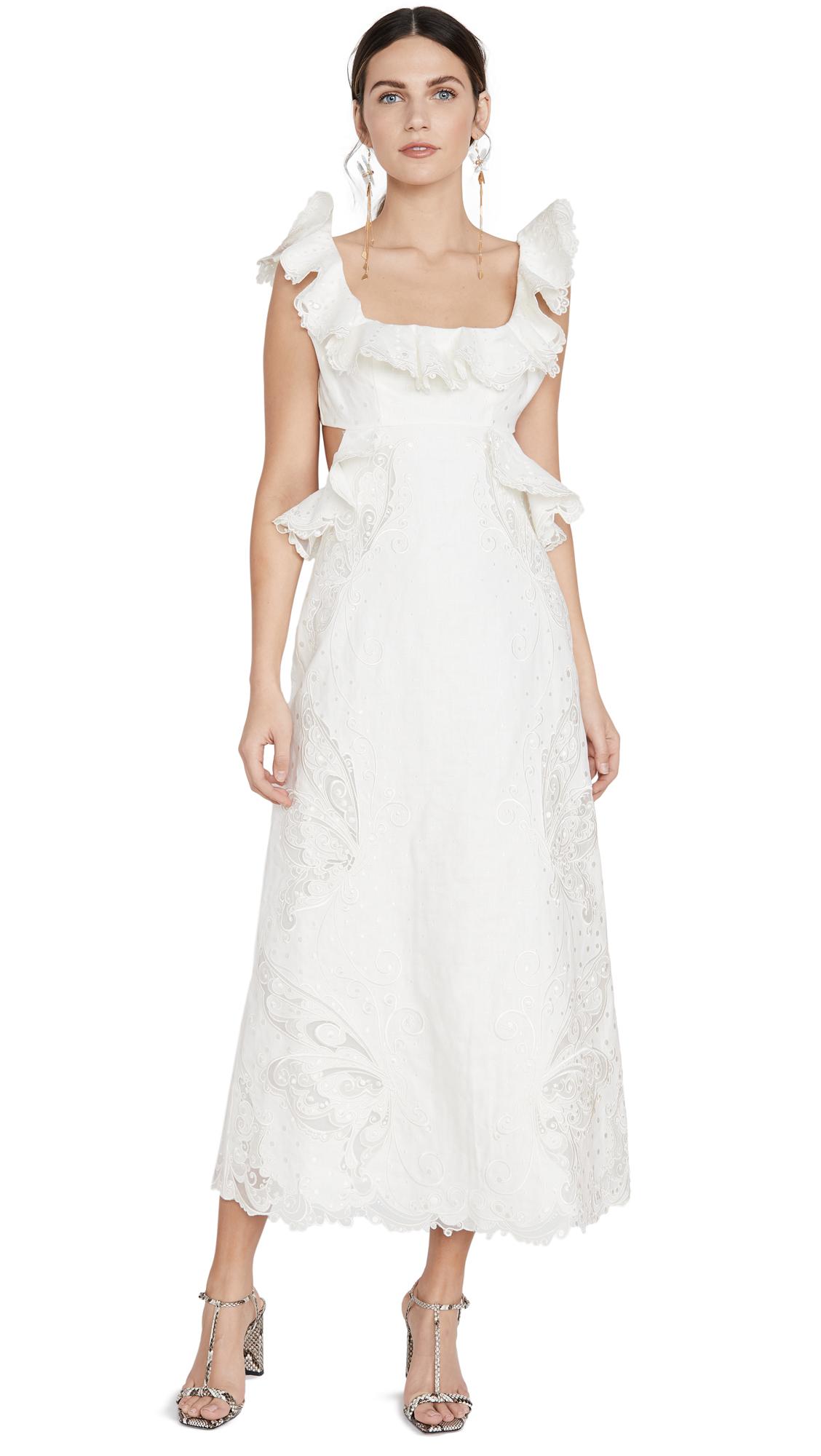 Buy Zimmermann Super Eight Embroidered Dress online beautiful Zimmermann Dresses, Strapless