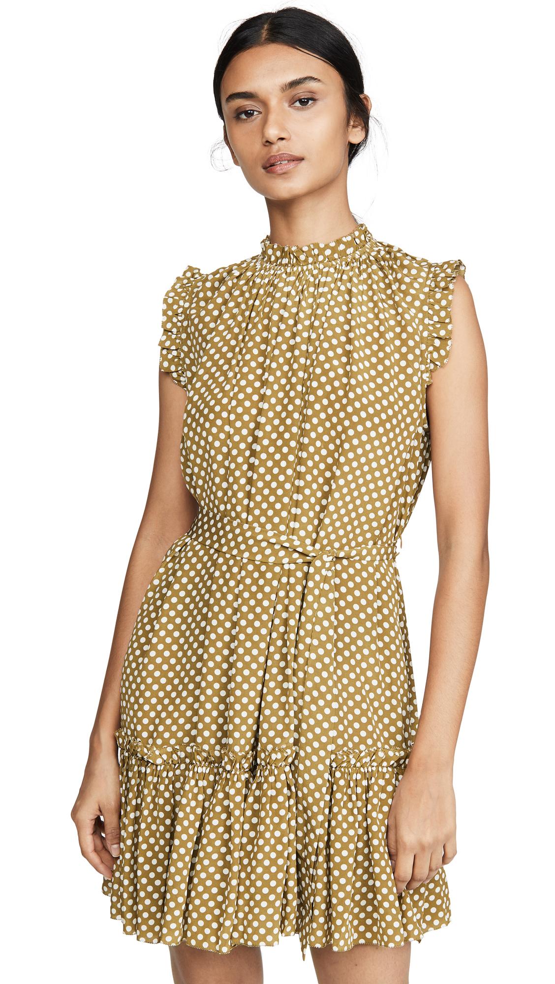 Buy Zimmermann Super Eight Silk Frill Mini Dress online beautiful Zimmermann Clothing, Dresses