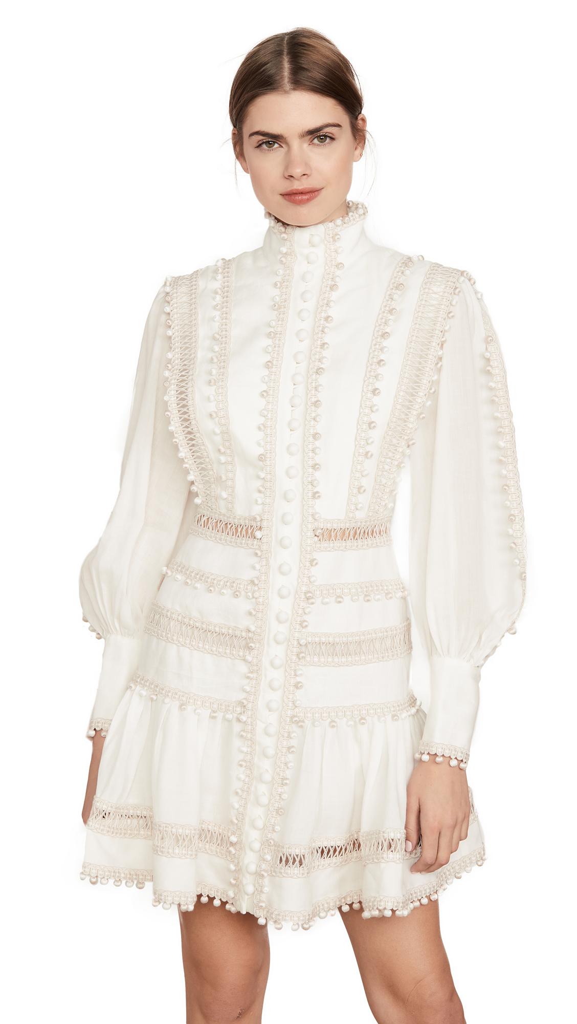Buy Zimmermann Super Eight Corded Mini Dress online beautiful Zimmermann Dresses, Strapless