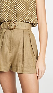 Zimmermann Super Eight Safari Shorts