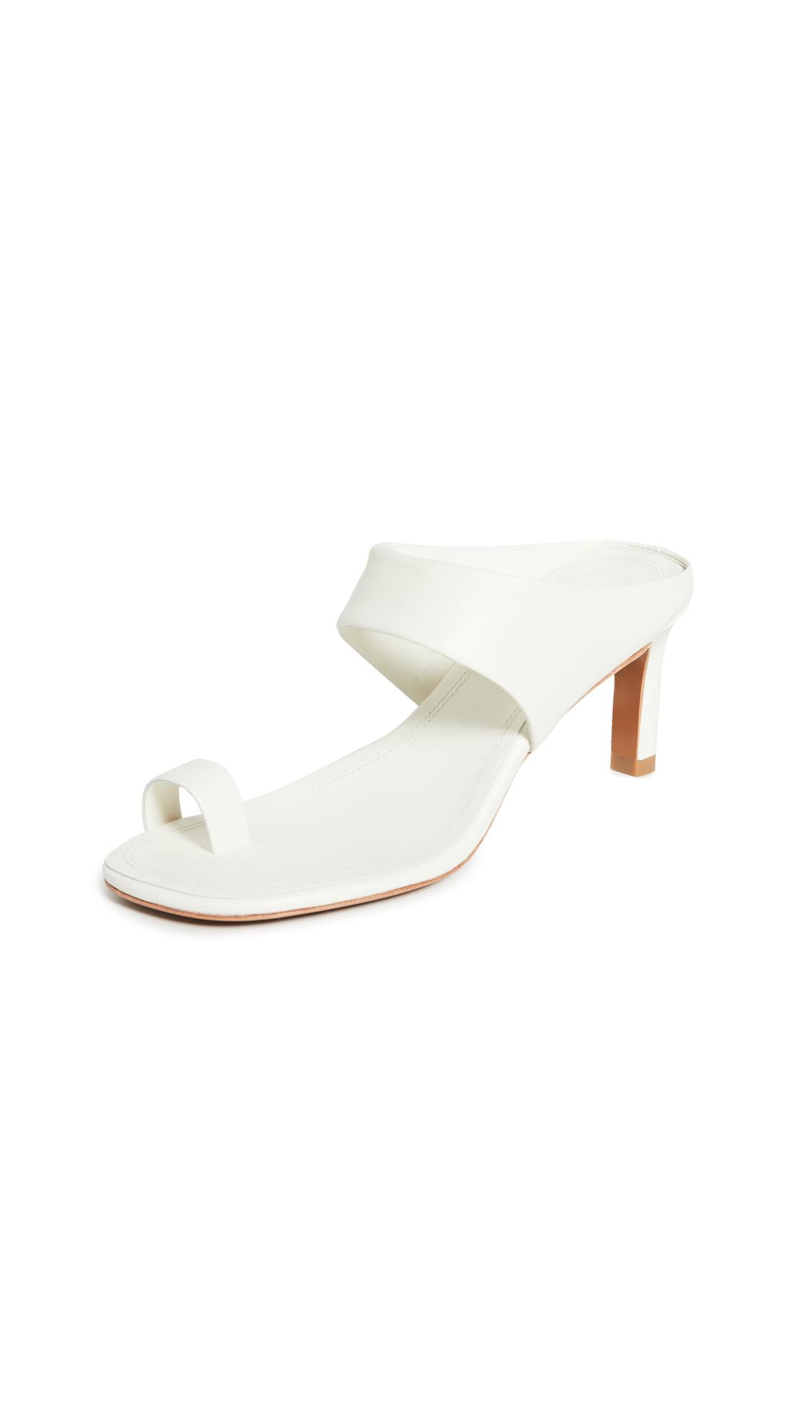 Zimmermann Strap Sandals - Pearl
