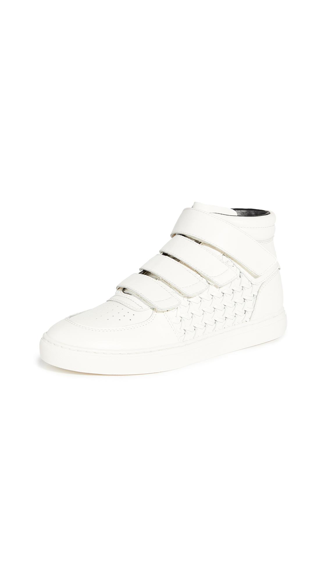 Zimmermann High Top Velcro Strap Sneakers - 50% Off Sale