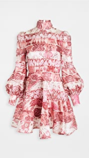 Zimmermann Wavelength Spliced Mini Dress