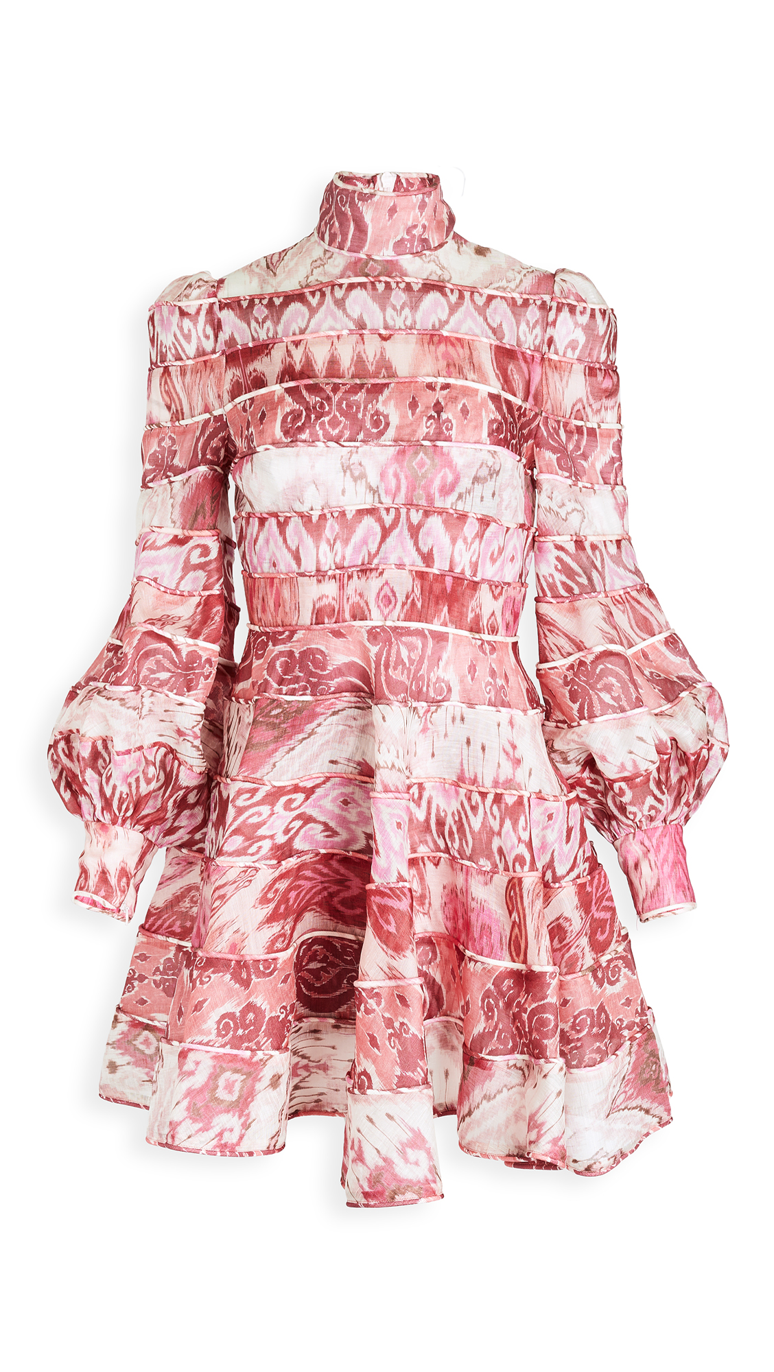 Zimmermann Wavelength Spliced Mini Dress - 30% Off Sale