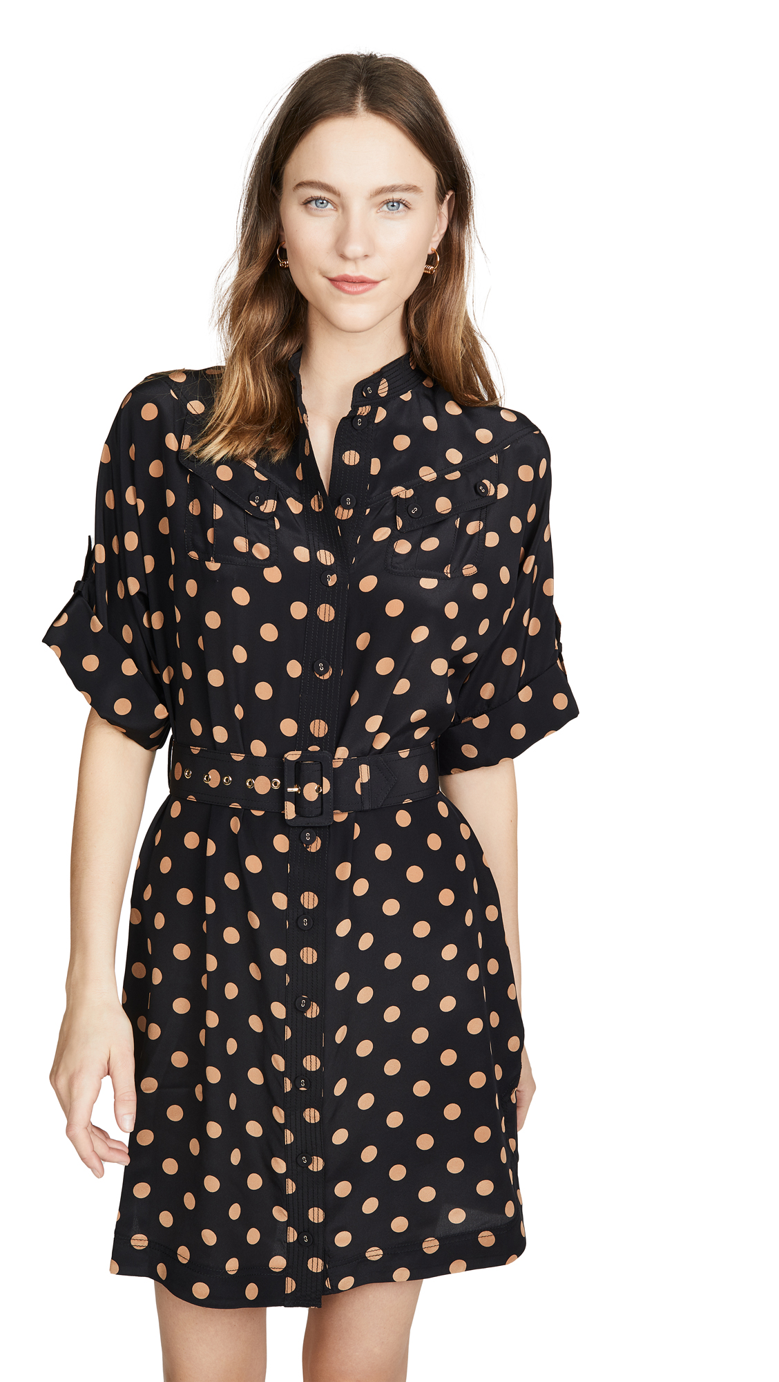 Buy Zimmermann Silk Utility Mini Dress online beautiful Zimmermann Clothing, Dresses