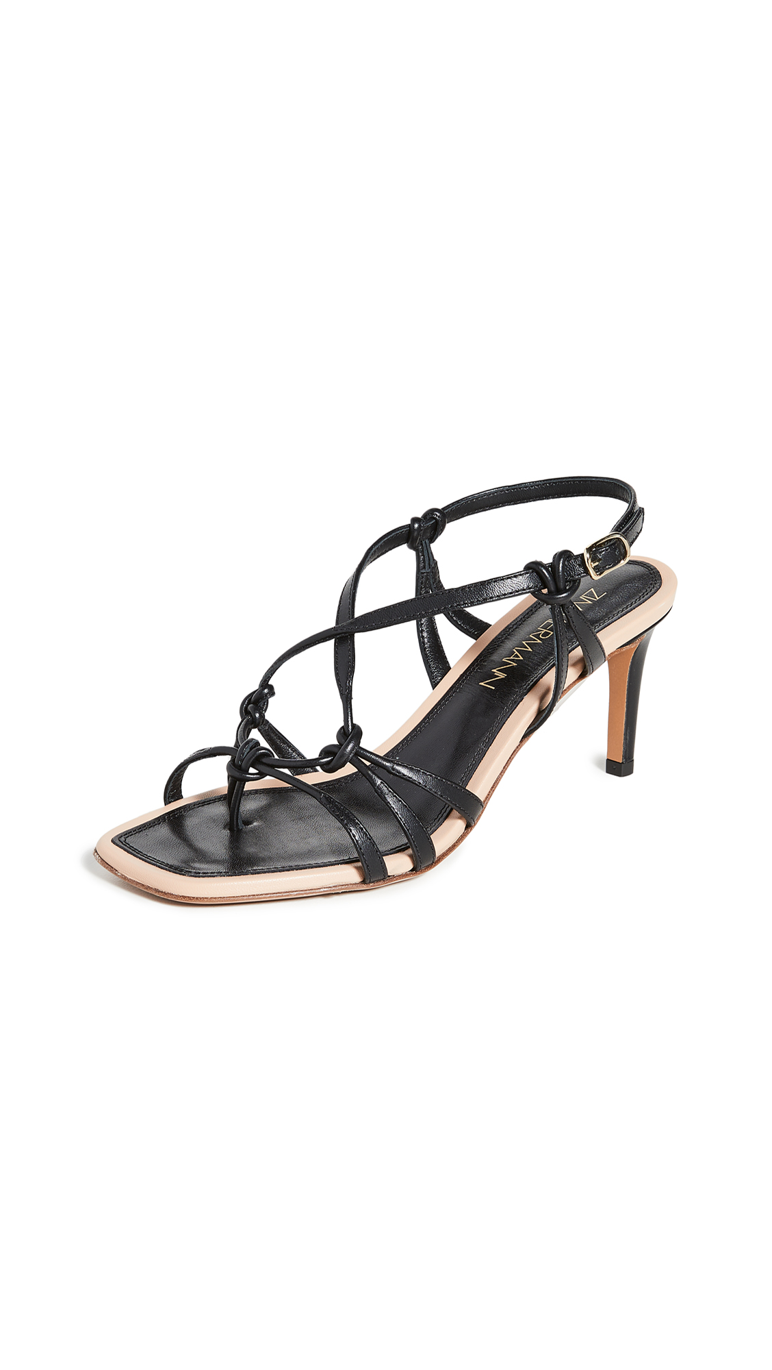 Zimmermann Knotted Strap Heeled Sandals – 50% Off Sale