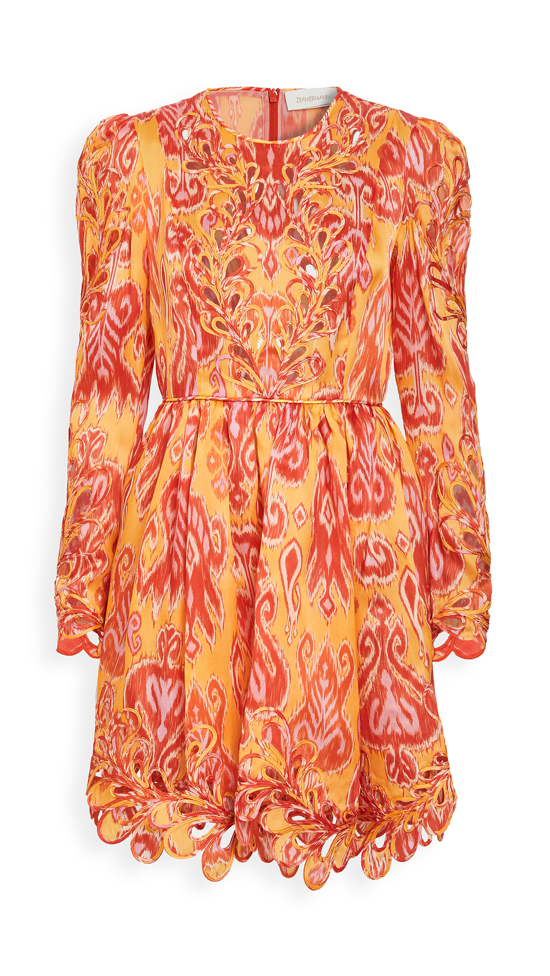 Zimmermann Brightside Rouleaux Mini Dress