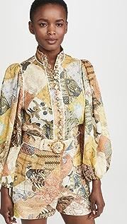 Zimmermann Brightside Piper Body 衬衫