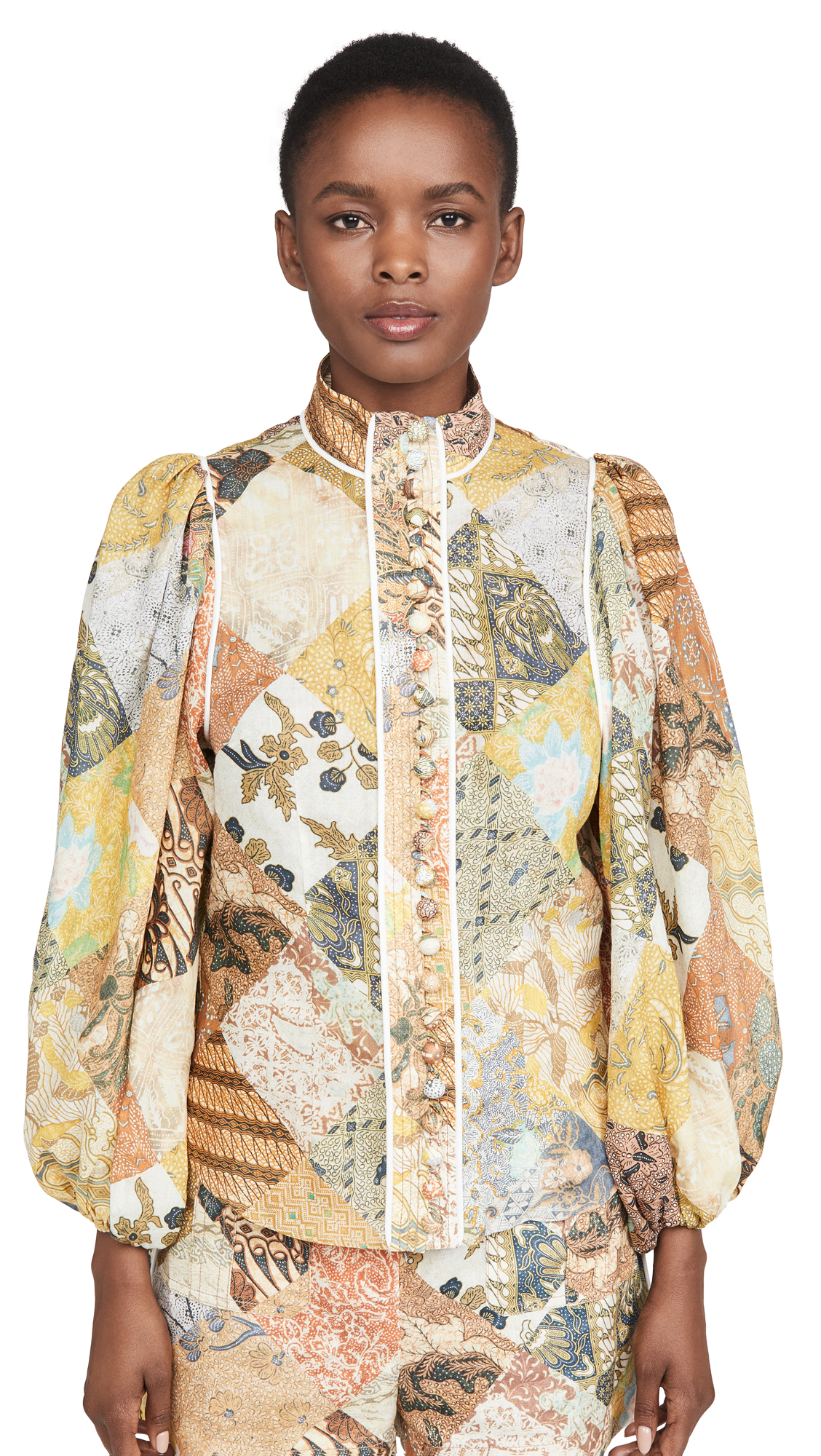 Zimmermann Brightside Piper Shirt - 30% Off Sale