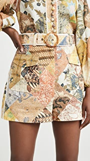 Zimmermann Brightside Piper Shorts