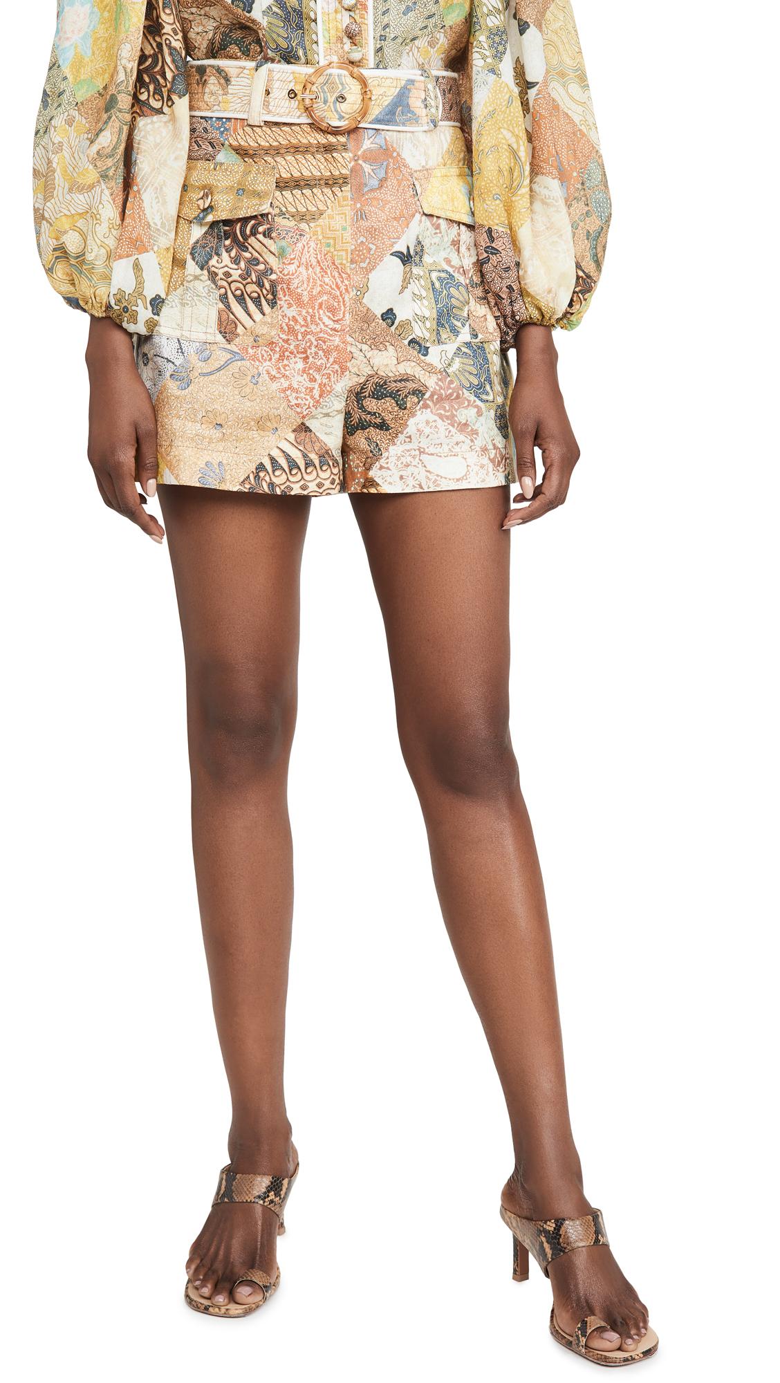Zimmermann Brightside Piper Shorts