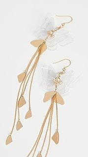 Zimmermann Butterfly Drop Earrings