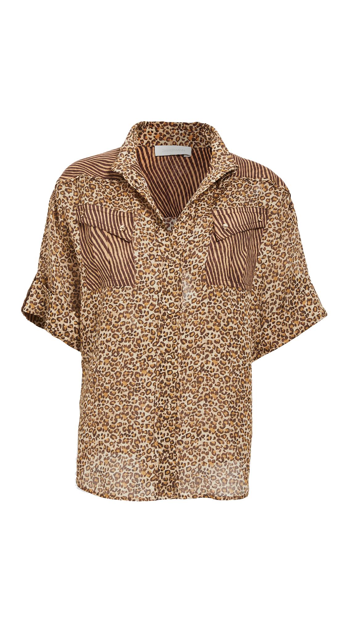 Zimmermann Empire Cuffed Shirt