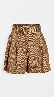 Zimmermann Empire Cuffed Shorts