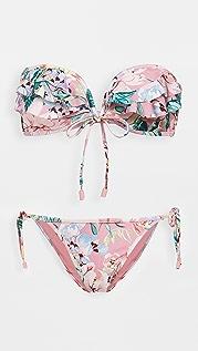 Zimmermann Bellitude Frill Bikini