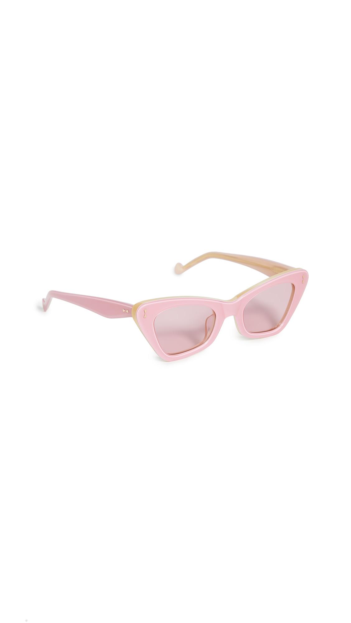 Zimmermann Tallow Sunglasses - Blossom Pink