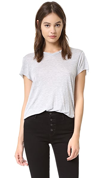 Zoe Karssen Loose Fit V-Neck Tee