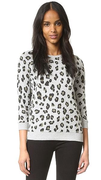 Zoe Karssen Leopard Allover Sweatshirt