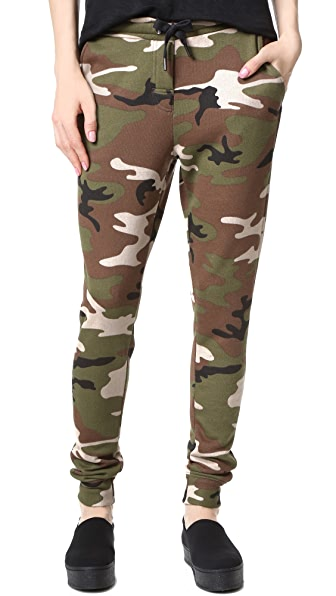 Zoe Karssen Camo Allover Sweatpants