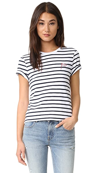 Zoe Karssen Bingo Striped Tee