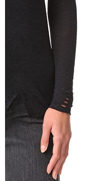 Zoe Karssen Cutout Long Sleeve