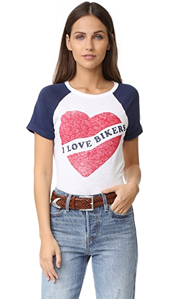 Zoe Karssen I Love Bikers Tee