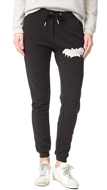 Zoe Karssen Distressed Bat Sweats