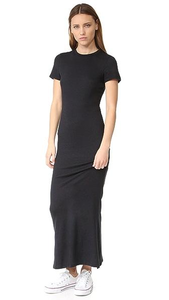 Zoe Karssen T-Shirt Maxi Dress - Pirate Black