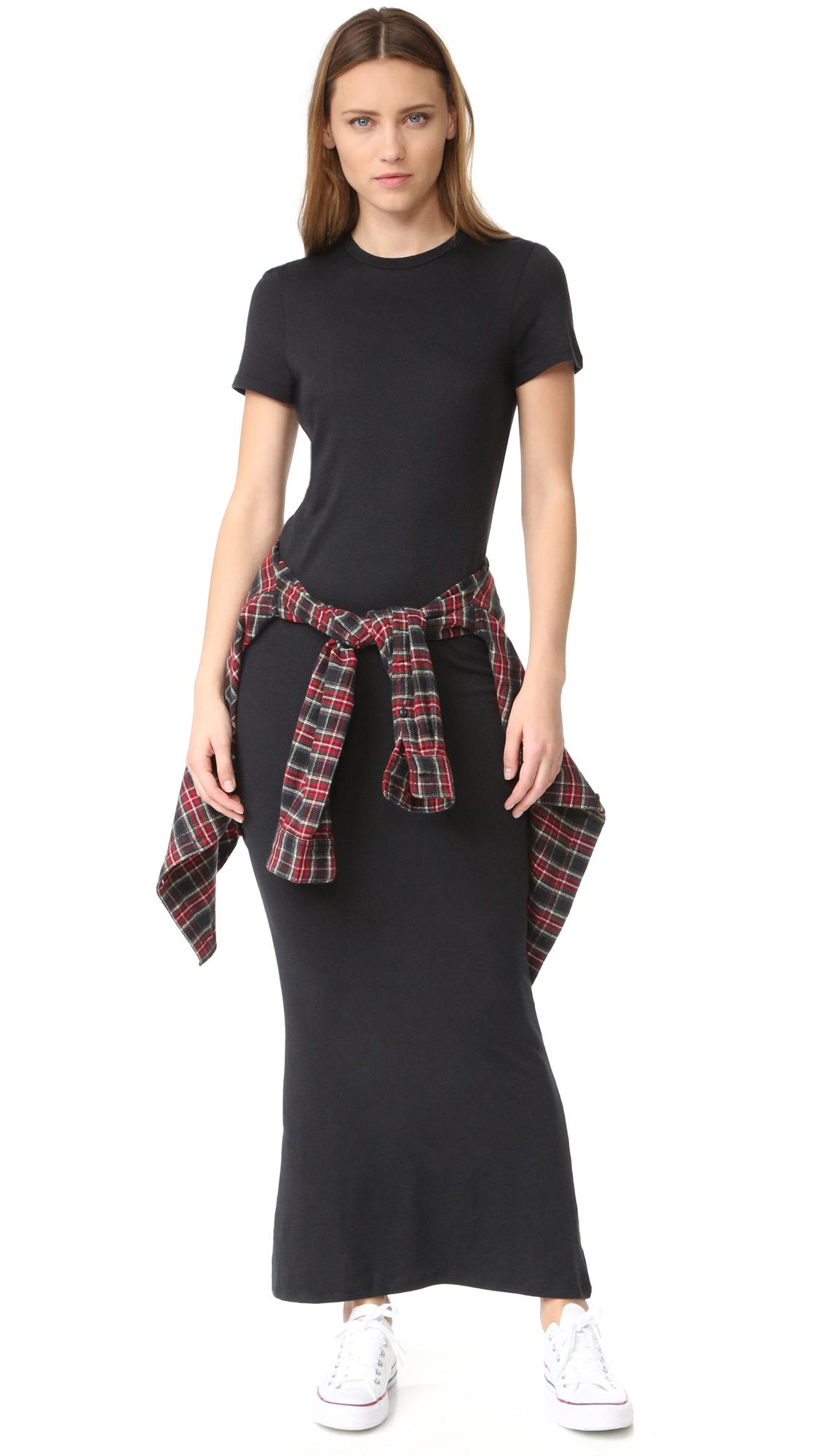 Black black t shirt maxi dress - Black Black T Shirt Maxi Dress 31