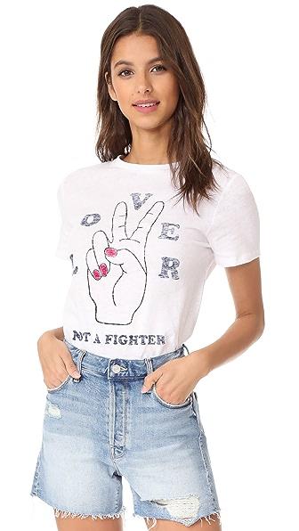 Zoe Karssen Lover Not a Fighter Tee