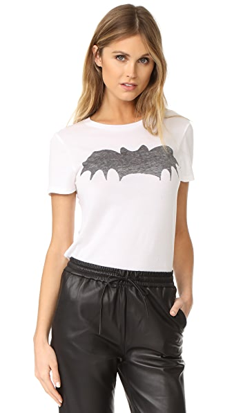 Zoe Karssen Bat Tee - Optical White