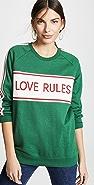 Zoe Karssen Boyfriend Fit Insert Sweatshirt