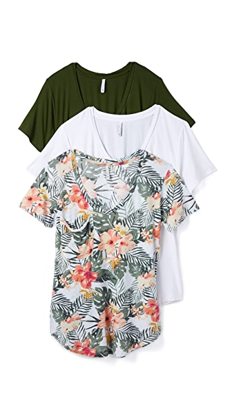 Z Supply Tropical Tee 3 Pack