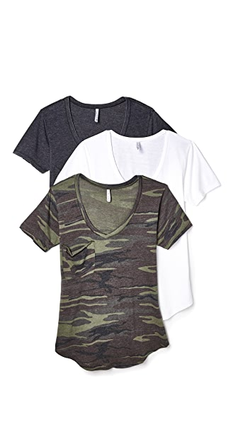 Z Supply Camo Tee 3 Pack - Multi