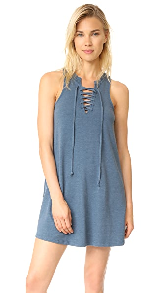 Z Supply All Tied Up Dress - Orion Blue