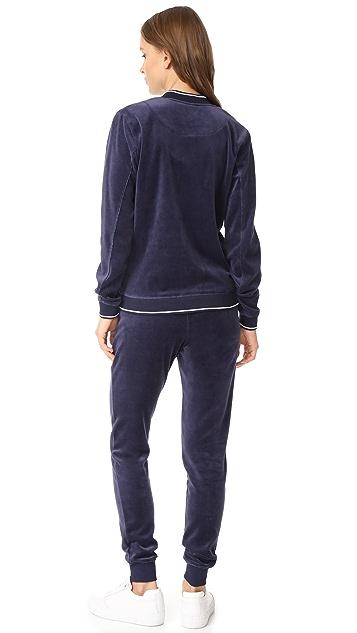 Z Supply Black Iris Jacket and Pant Set