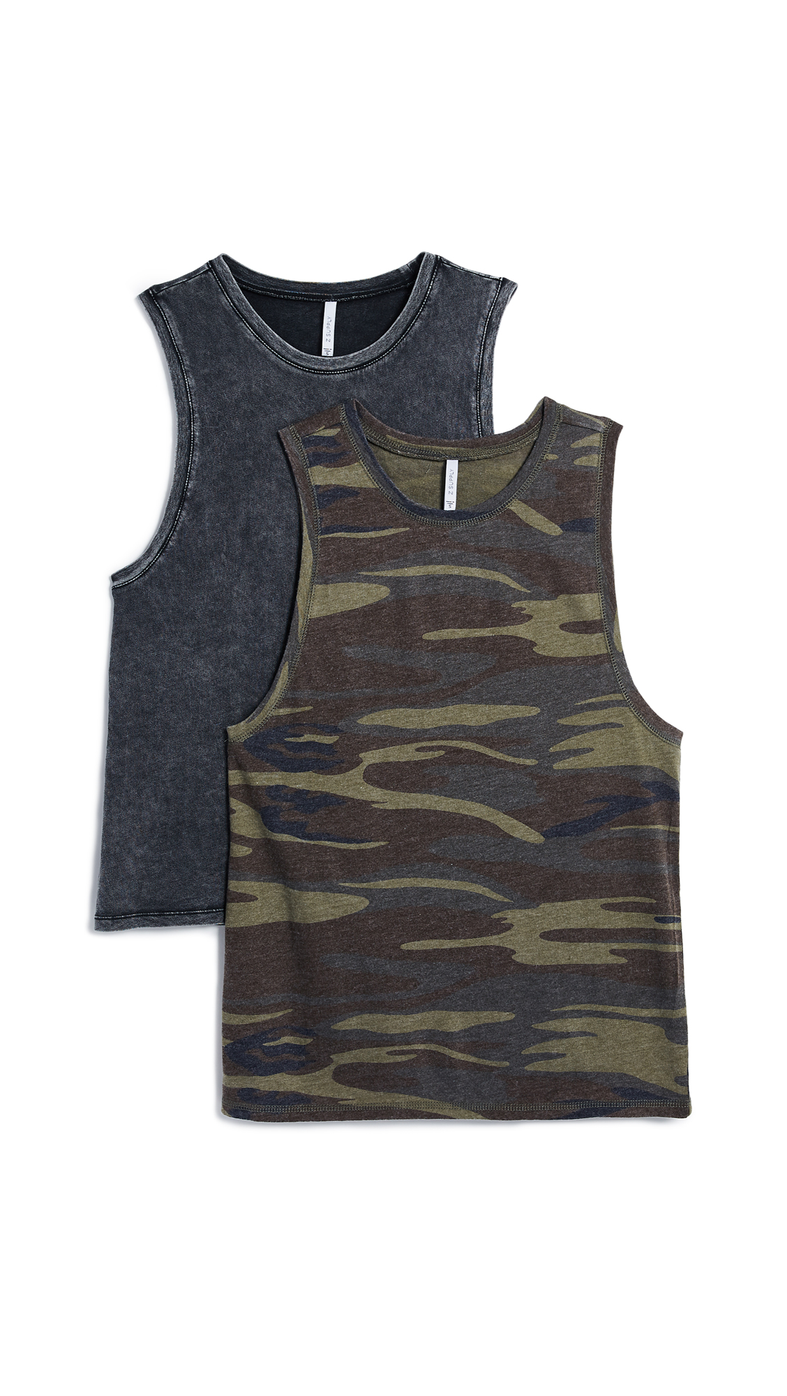 THE CAMO MUSCLE TANK 2 PACK