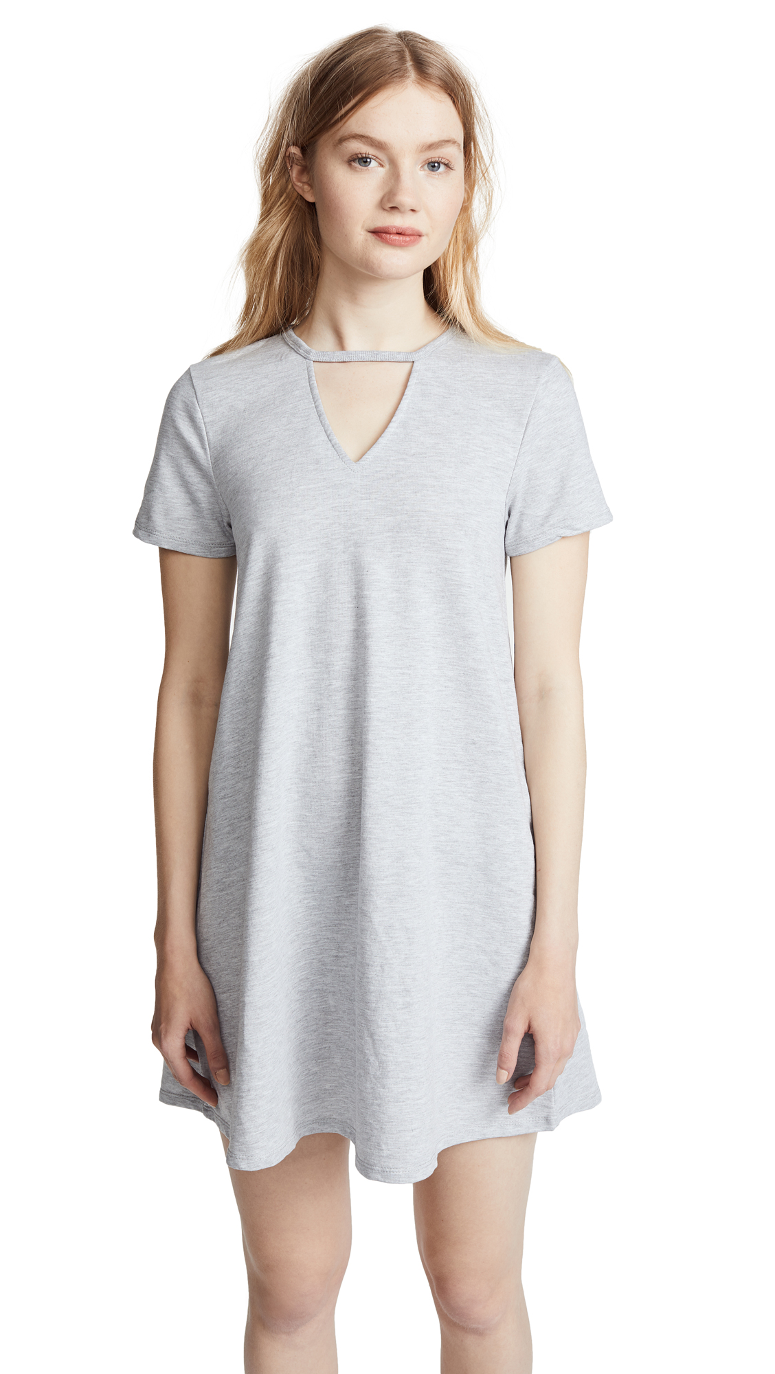 Z Supply The Cutout Front Tee Dress
