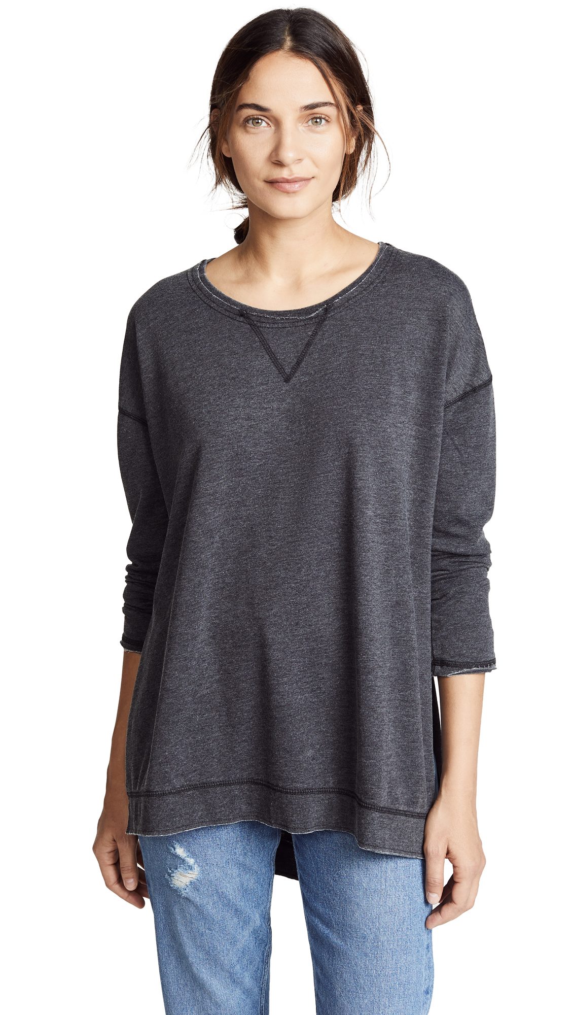 Z Supply The Weekender Pullover - Black