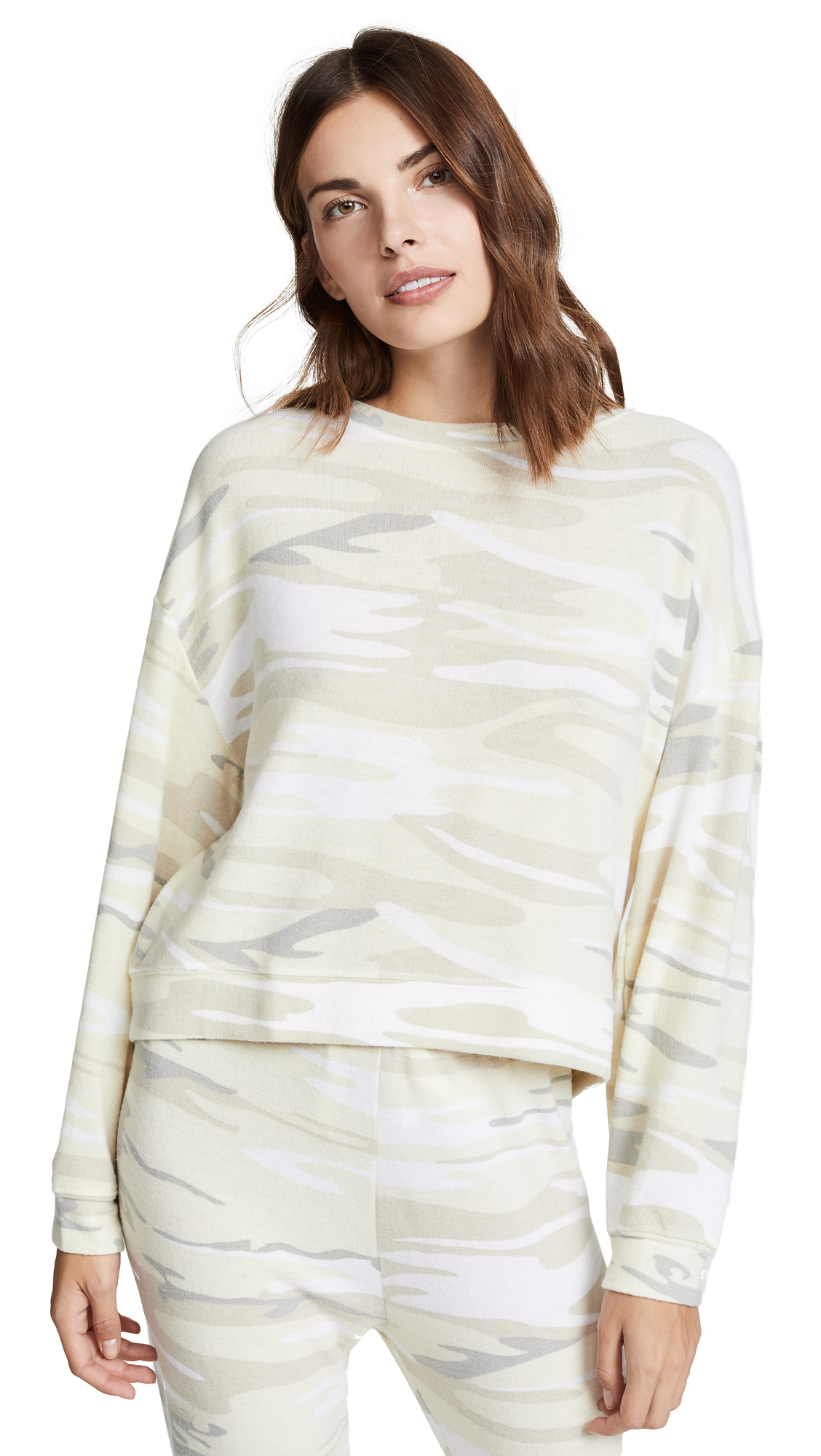 Z SUPPLY Lux Camo Pullover in Camoflage
