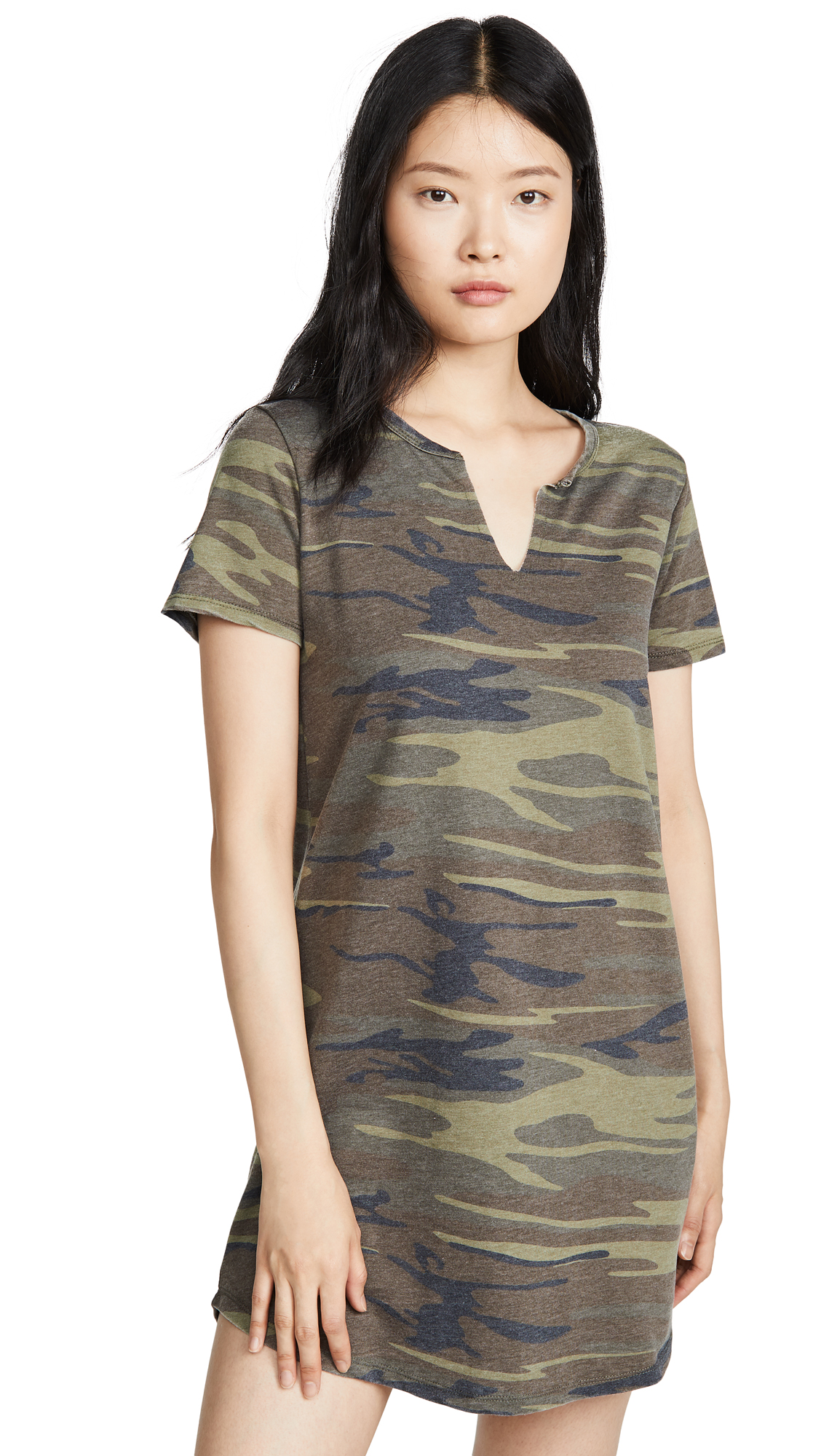 Buy Z Supply Split Neck Camo Dress online beautiful Z Supply Clothing, Dresses