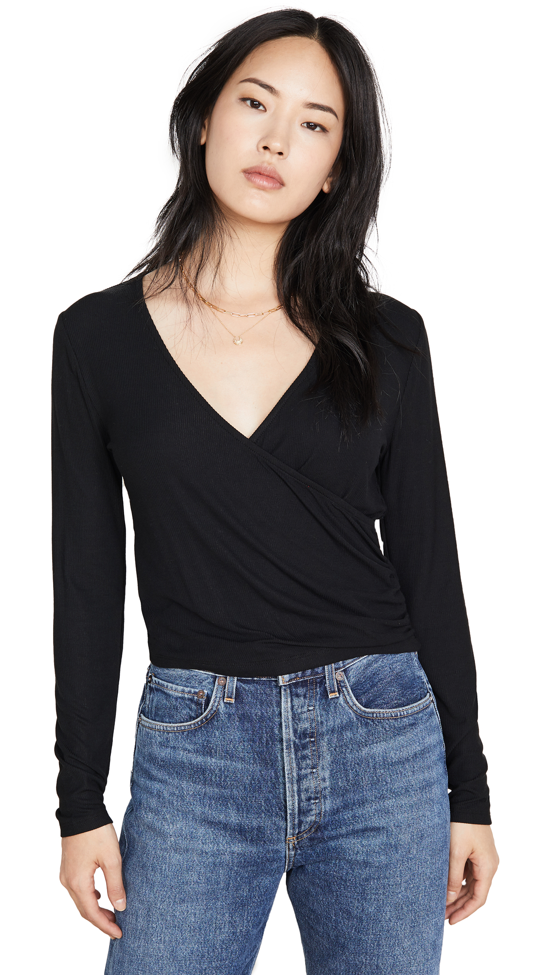 Buy Z Supply online - photo of Z Supply The Micro Rib Wrap Top