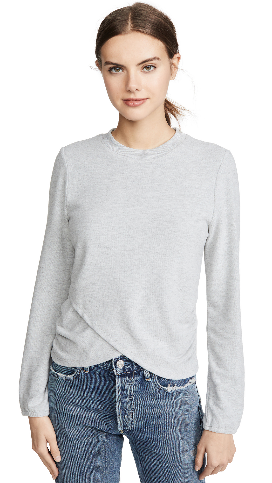 Buy Z Supply online - photo of Z Supply The Soft Spun Ruched Top