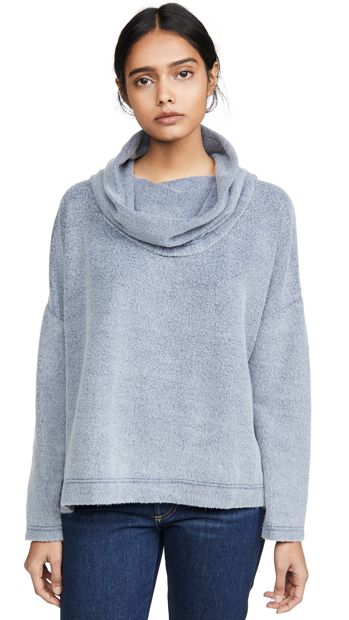 Buy Z Supply online - photo of Z Supply The Fleece Scallop Cowl Neck Top