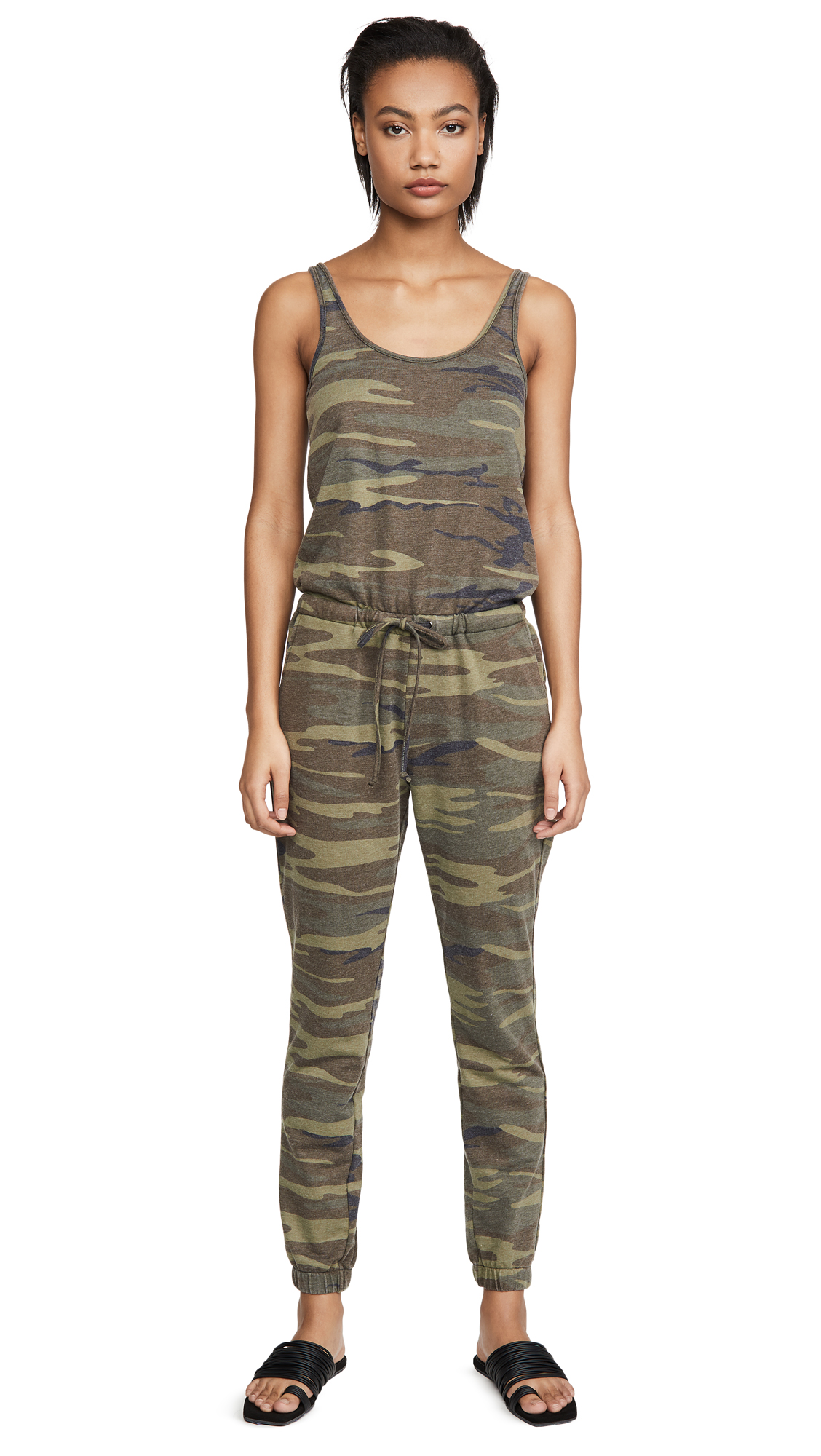 Buy Z Supply online - photo of Z Supply Camo Tank Jumpsuit
