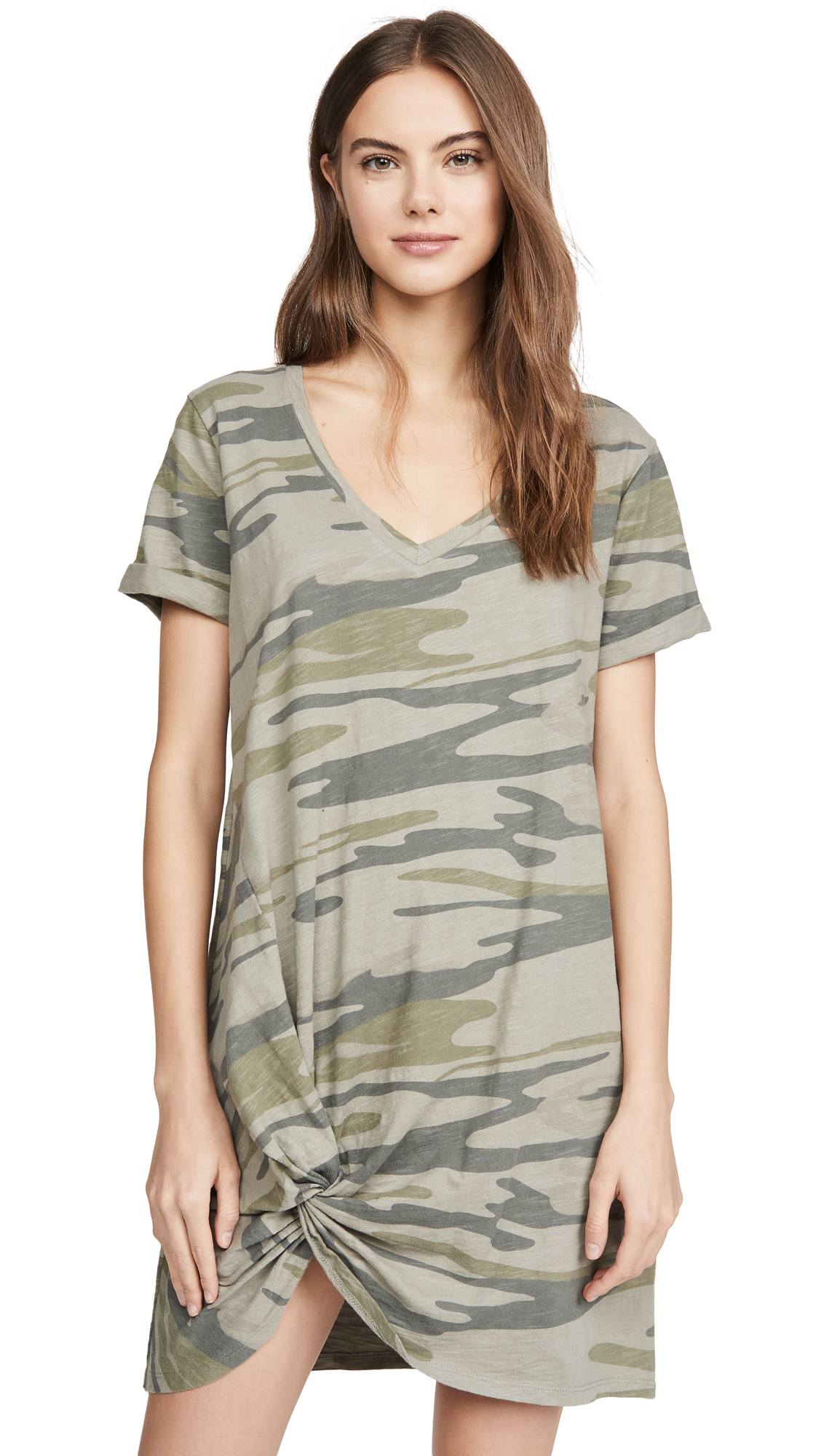 Buy Z Supply Side Knot Camo Dress online beautiful Z Supply Clothing, Dresses
