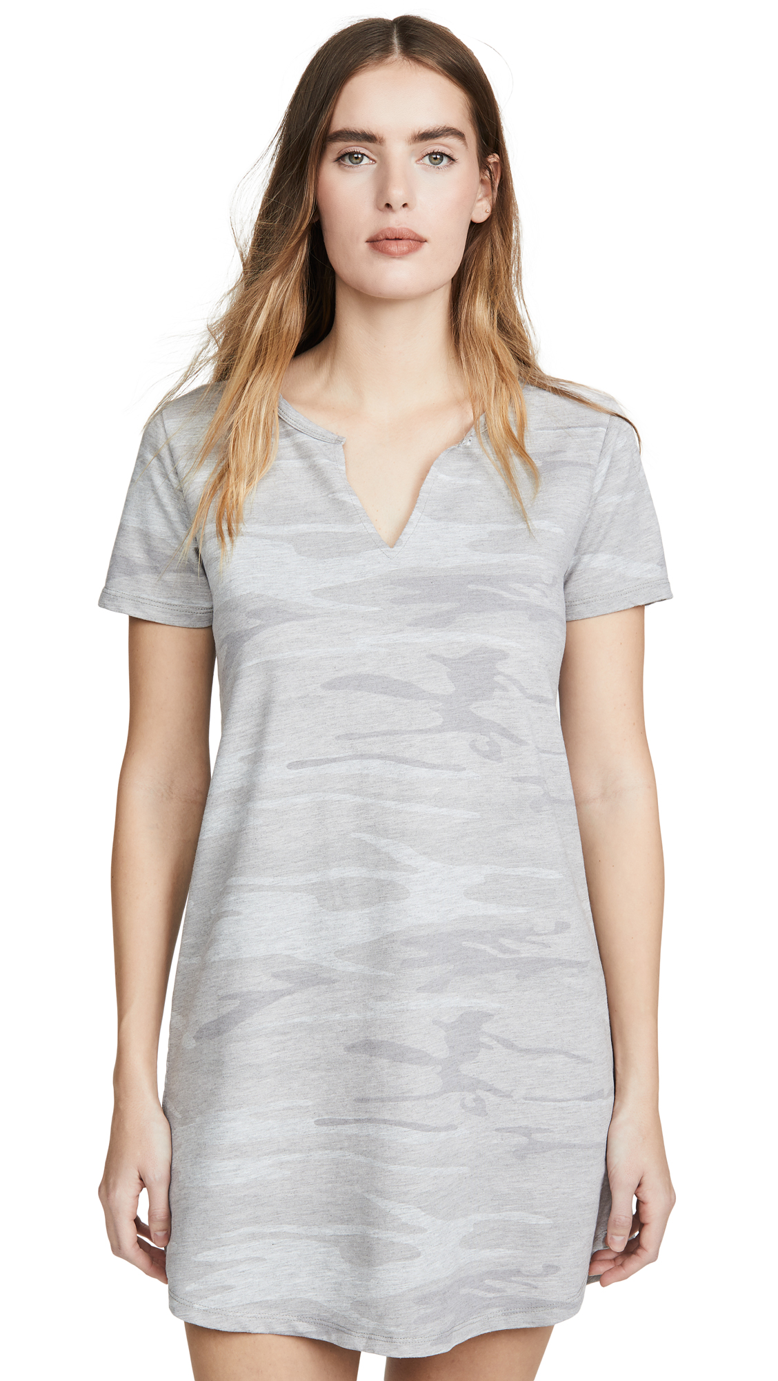 Buy Z Supply Camo Split Neck Dress online beautiful Z Supply Clothing, Dresses