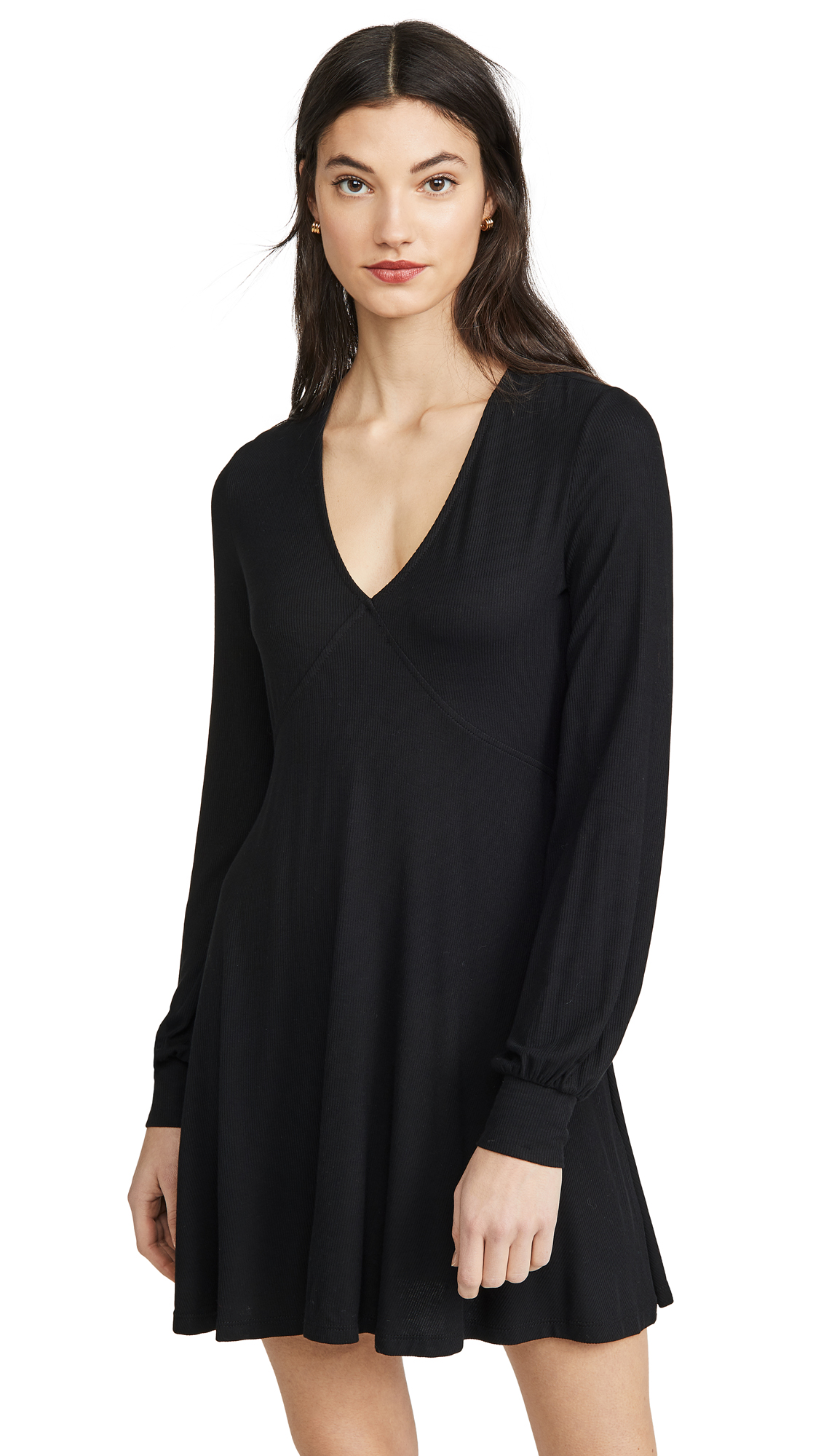 Buy Z Supply online - photo of Z Supply Micro Rib Long Sleeve Dress